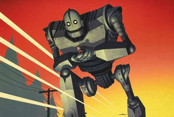 The Iron Giant/El Gegant de Ferro [Cinema infantil]