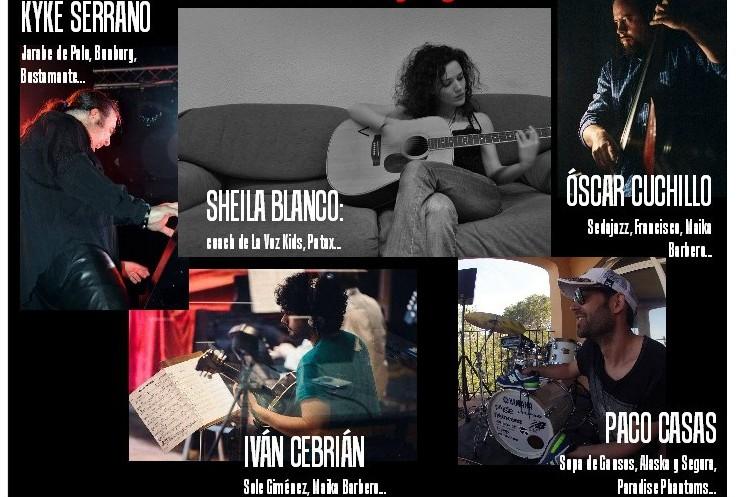 Concert SHEILA BLANCO + KYKE SERRANO & FRIENDS