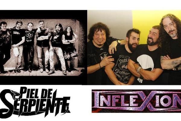 Heavy en directe amb INFLEXIÓN + PIEL DE SERPIENTE