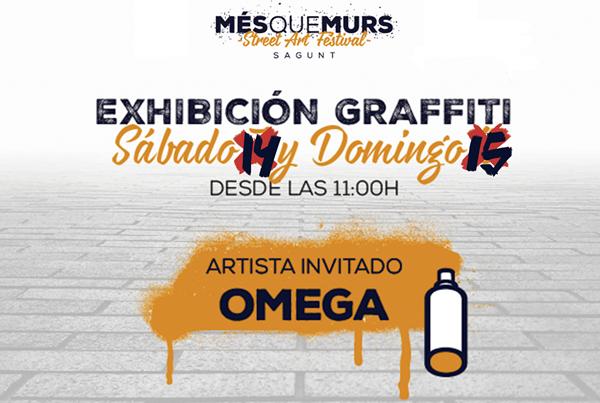 Més que Murs: Exhibició de graffitis i taller infantil