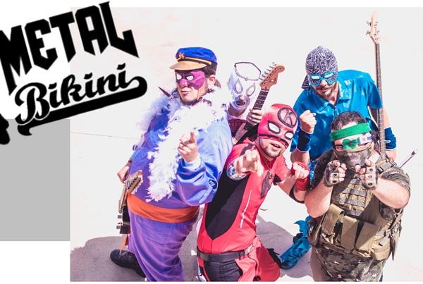 METAL BIKINI + EL JABALÍ DE FAUSTO [rock friki]