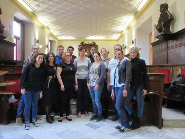 Visita europea Erasmus +