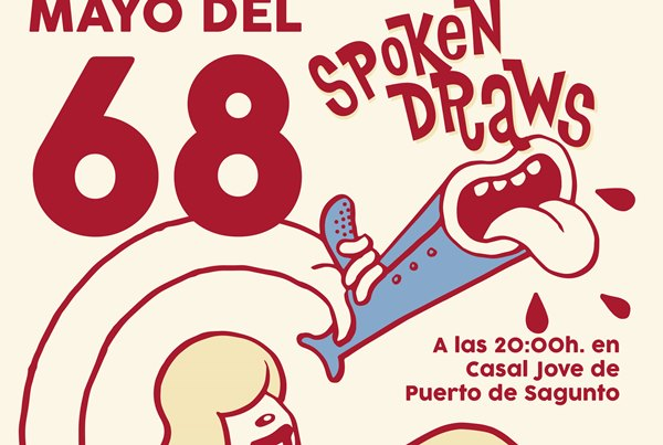Spoken Draws. Poesia i Il·lustració en directe