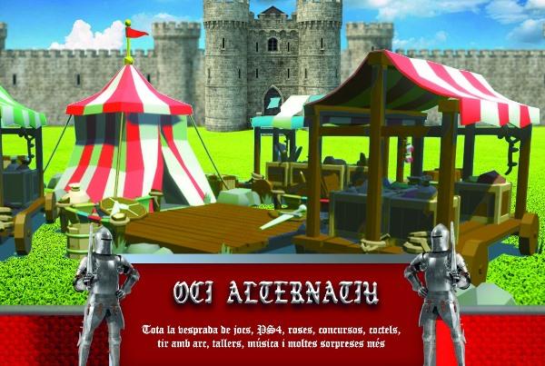 LLUNA PLENA Medieval 6 octubre