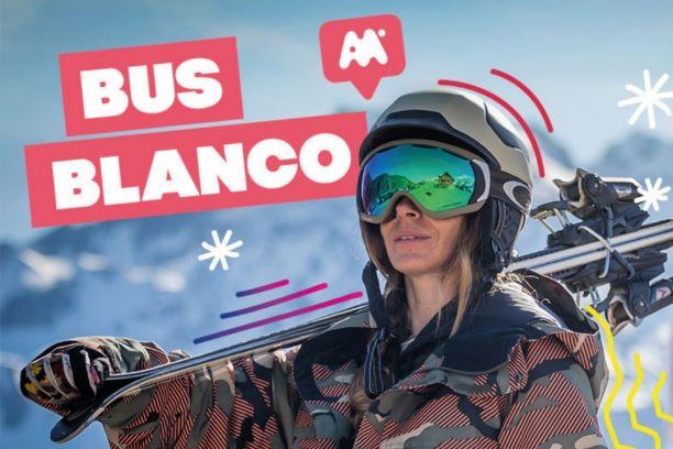 Bus Blanc a la Neu