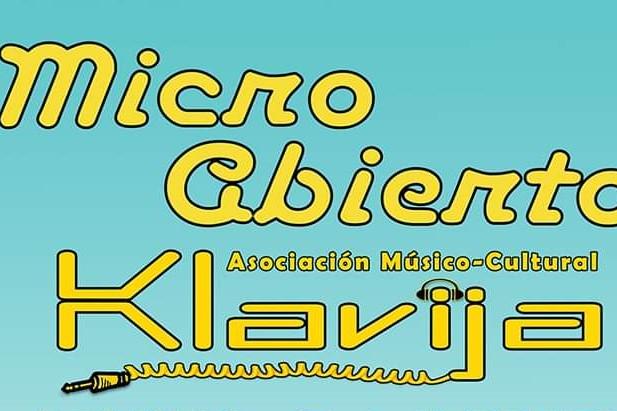 Micro Abierto-Jam Session Klavija (24 febrer)