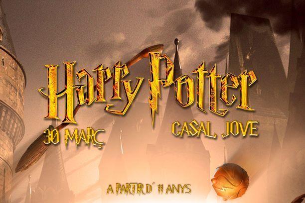 ENTRELLUNES HR Jove presenta: Jornada Harry Potter
