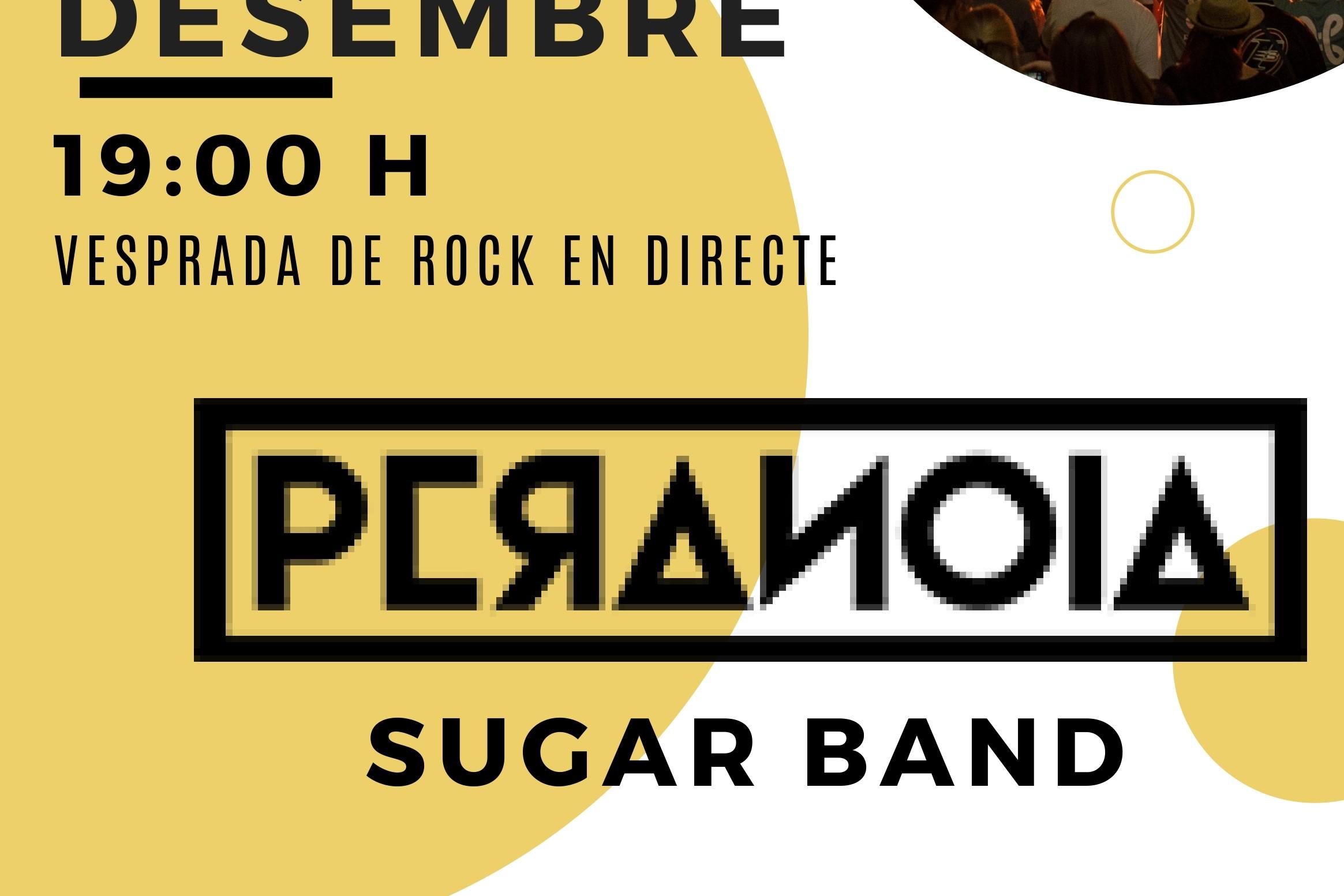 PERANOIA + SUGAR BAND en concert