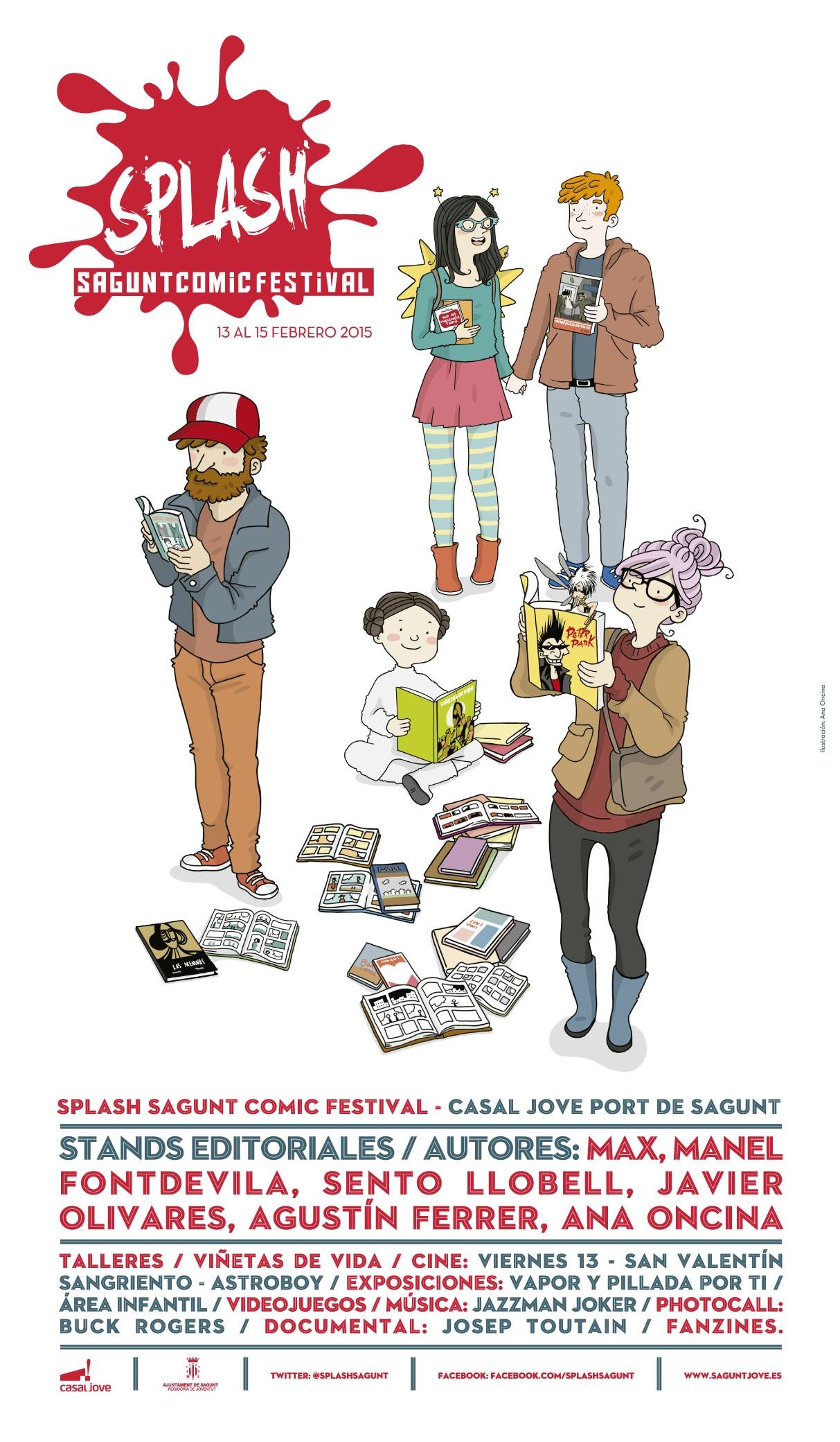Splash sagunt comic festival del 13 al 15 de febrero de - Casal jove puerto sagunto ...