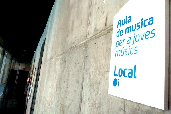 Sala d'Estudi per a músics