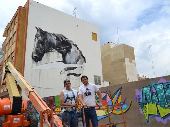 Grafiti plza Bilbao web